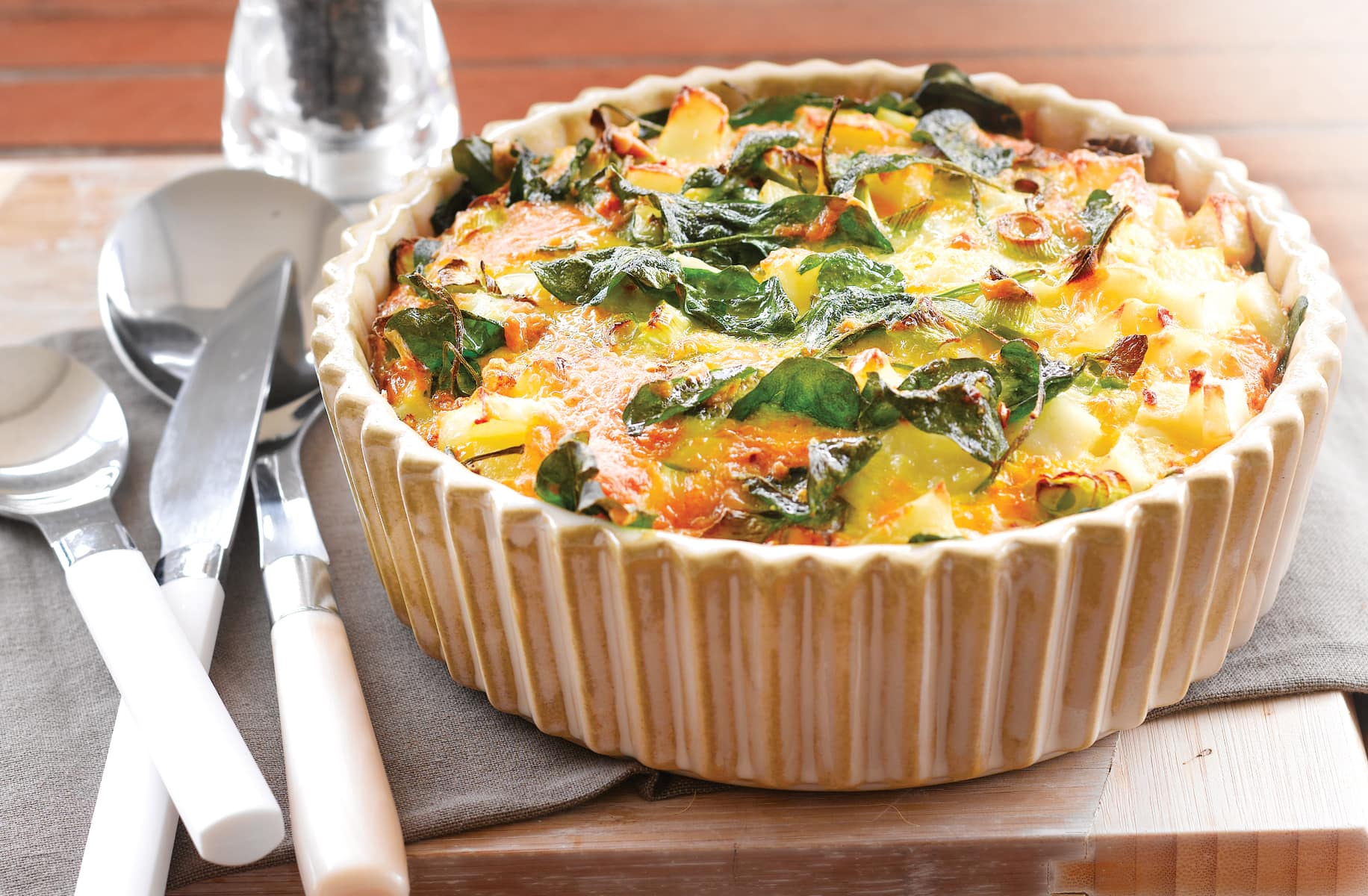 Potato And Spinach Frittata Healthy Food Guide