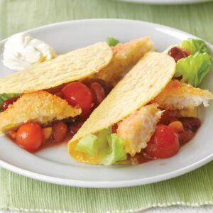 Quick and crispy fish tacos