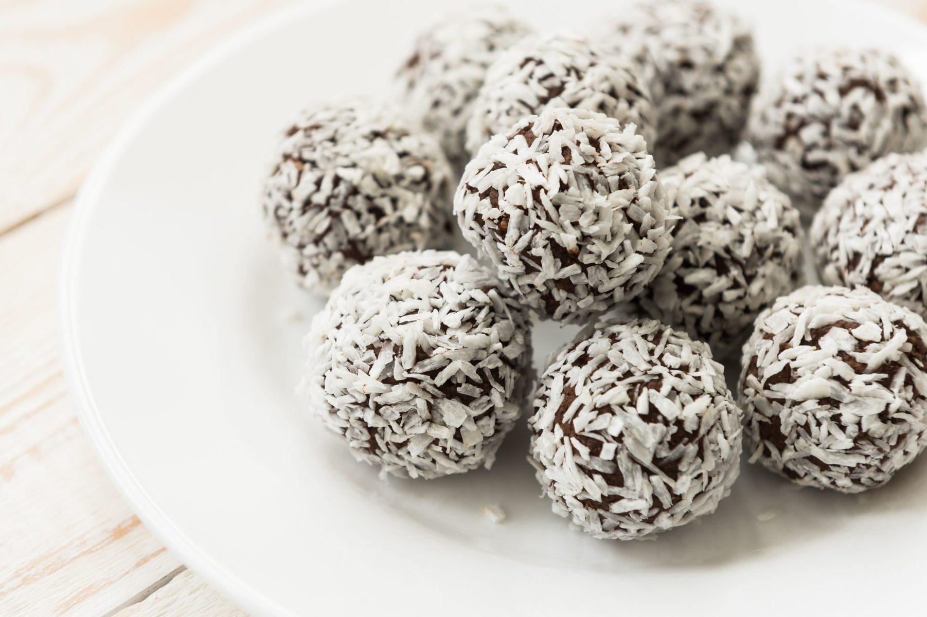 Rich fruit truffles
