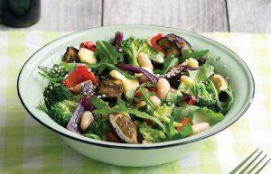 Roasted vege salad