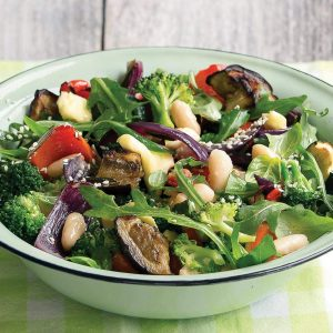 Roasted vege salad