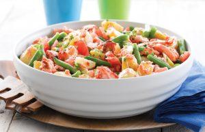 Salmon and potato salad