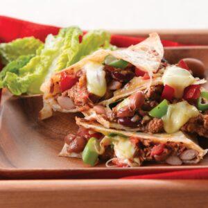 Sardine quesadilla