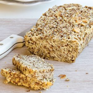 Seed and oat bread