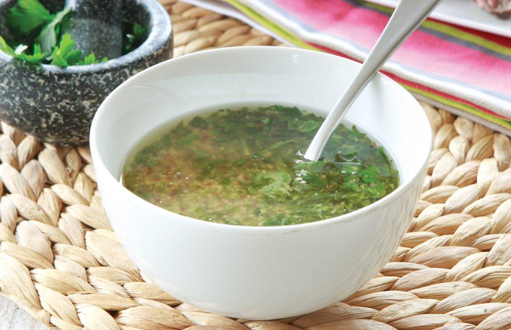 Simple herb marinade