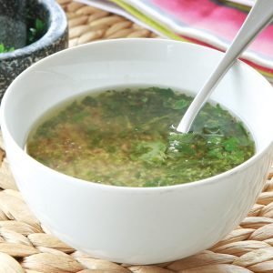 Simple herb marinade