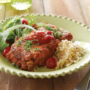 Spicy Mexican meatloaf