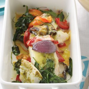 Summer fish bake