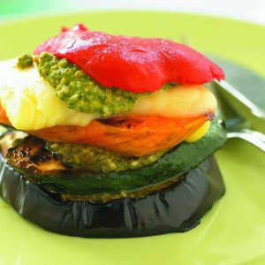 Summer vege stacks