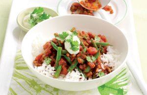 Tasty vege curry