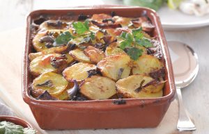 Thai-flavoured potato bake