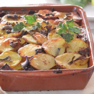 Thai-flavoured potato bake