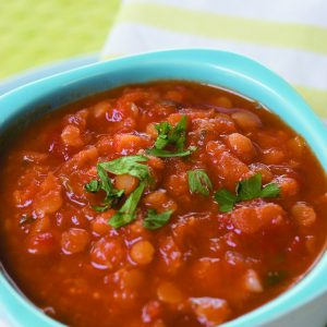 Mexican spiced tomato soup