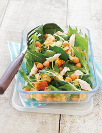 Grown-up healthy lunches!