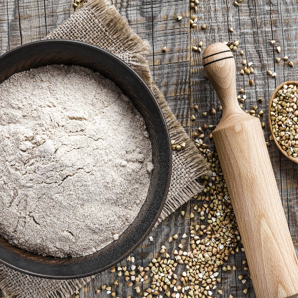 What flours and starches are low FODMAP?