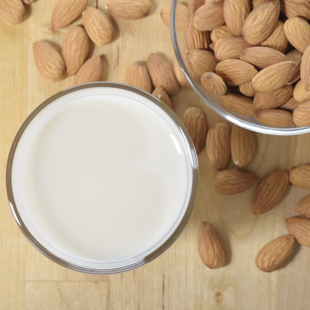 FODMAP content of milk and milk alternatives
