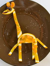 Citrus giraffe