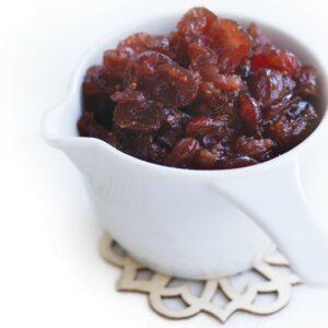 Cranberry orange relish
