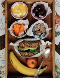 Healthy kids' lunchbox ideas