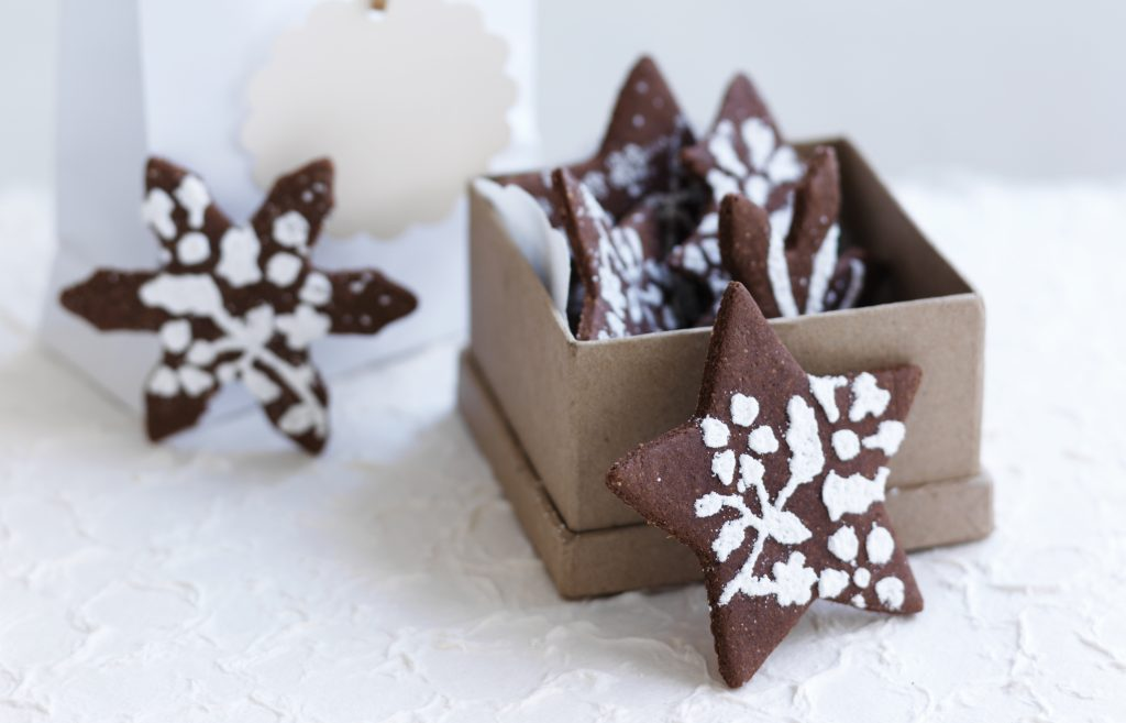 Gluten-free spiced Christmas biscuits
