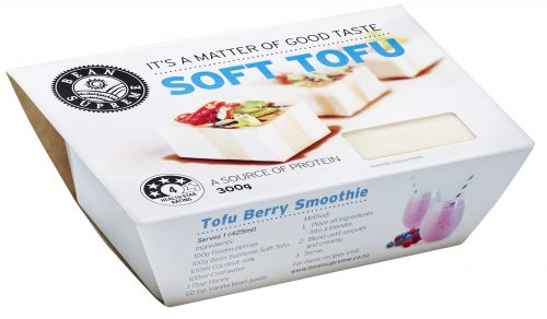 Pump up the protein with soft tofu