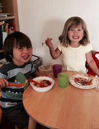 Five ways to inspire kids to eat healthily!