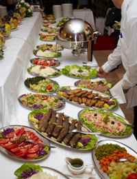 Can you eat safely at conferences?