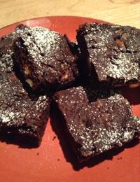 HFG chocolate brownie the gluten-free way!