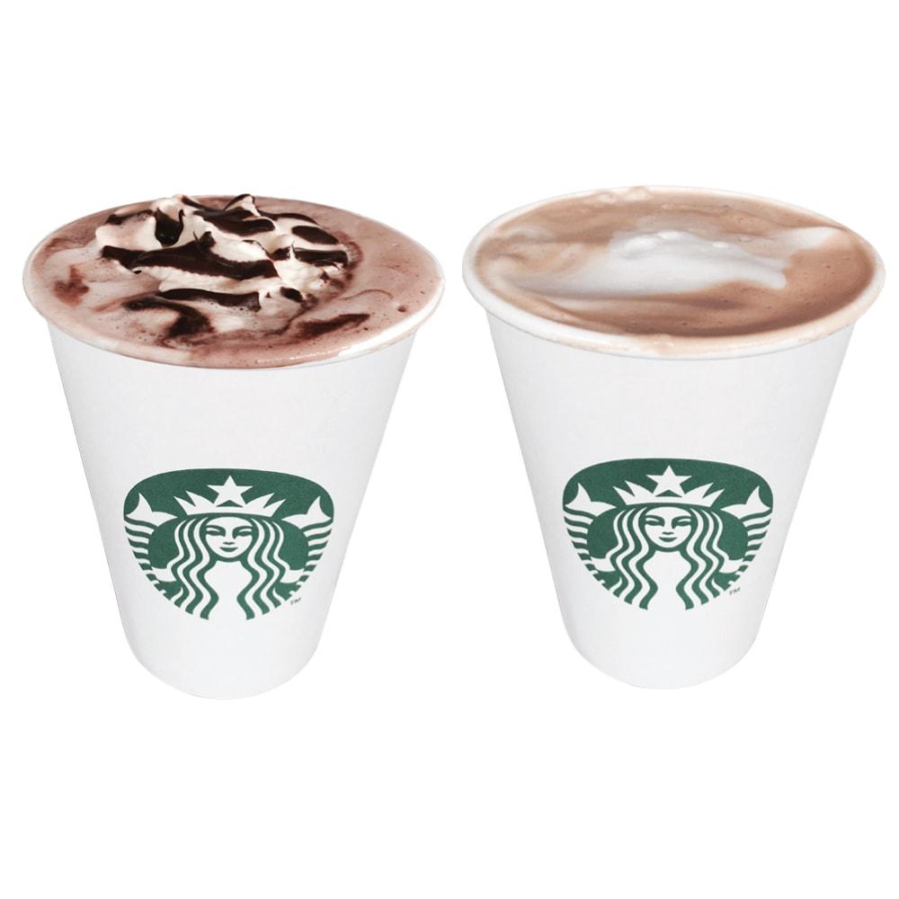 This vs that: Hot chocolate vs caffé latte