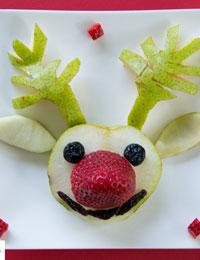 Strawberry Rudolph
