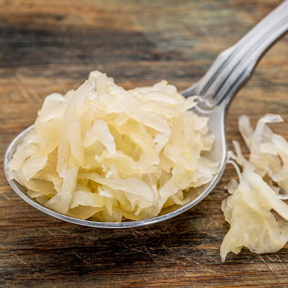Is fermented cabbage (sauerkraut) actually low FODMAP?