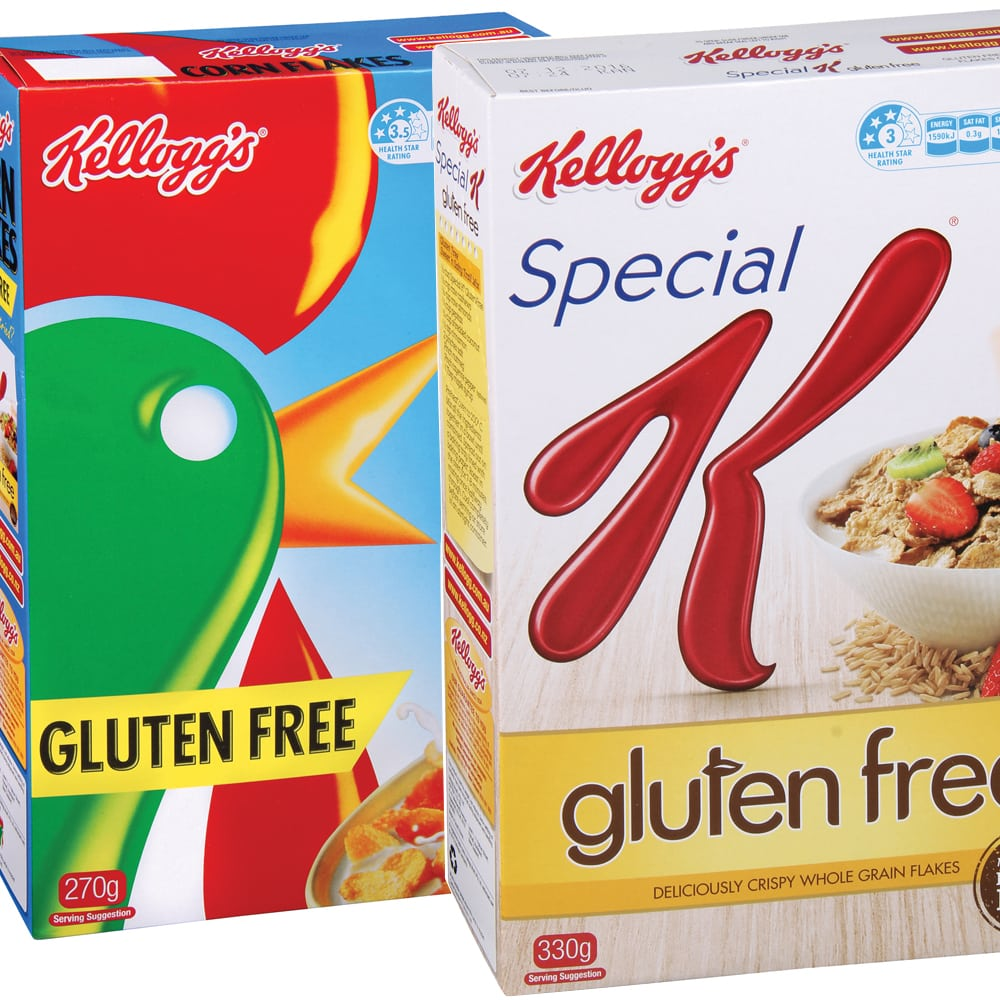 Reader review: Kellogg's Corn Flakes Gluten Free and Special K Gluten Free