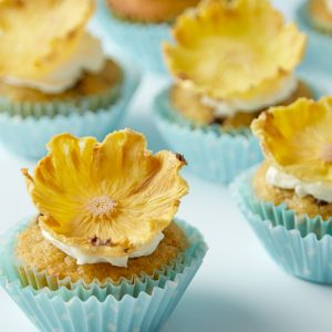 Baby banana pineapple cakes