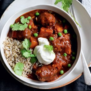 Beef and tomato curry