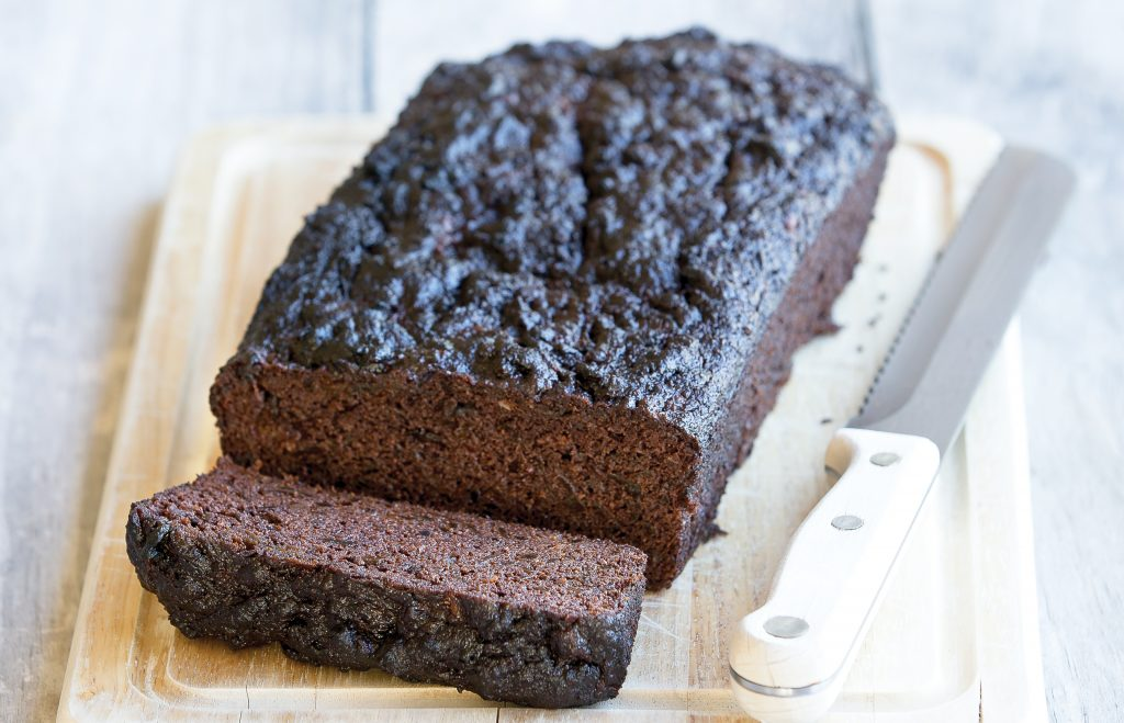 Beetroot chocolate loaf cake