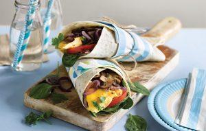 Kids' breakfast wrap