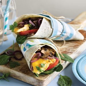 Kids' breakfast wrap