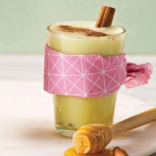 Chamomile milk tea 'latte'