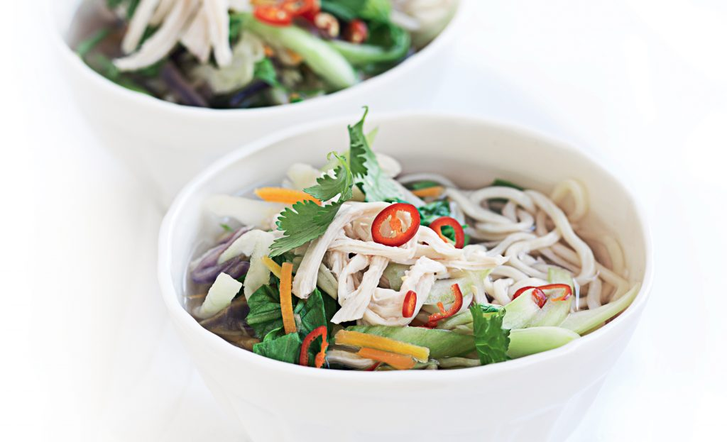 Chicken And Udon Noodle Soup Healthy Food Guide