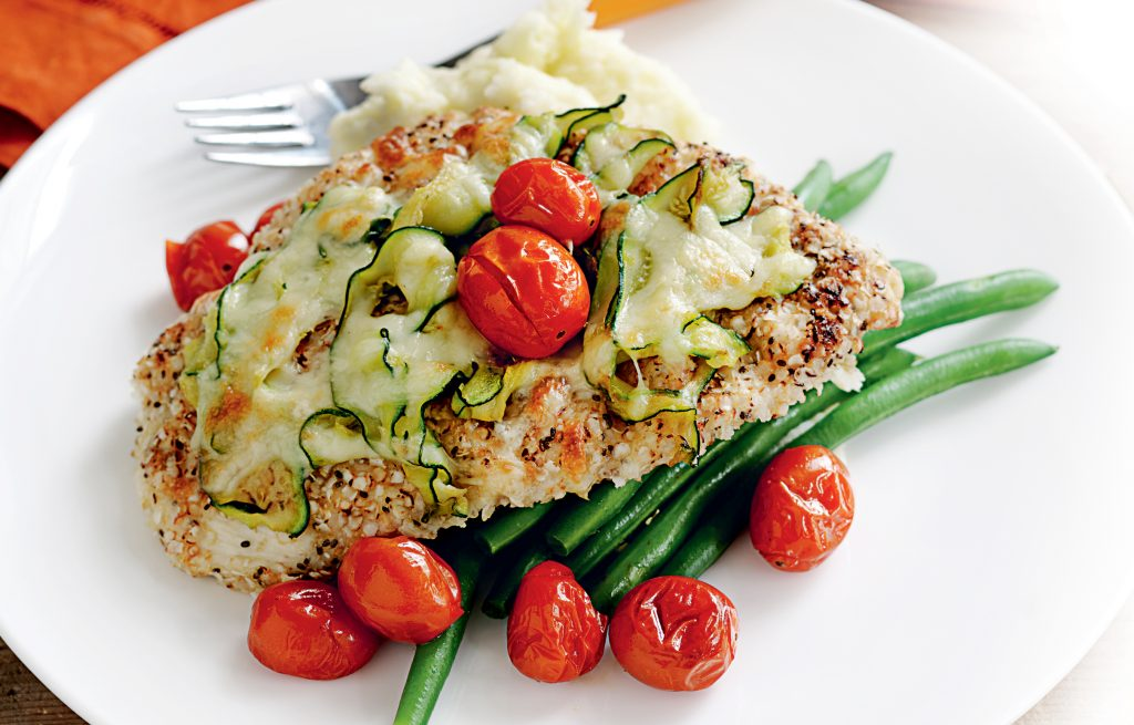 Chicken Parmigiana With Quinoa And Chia Healthy Food Guide