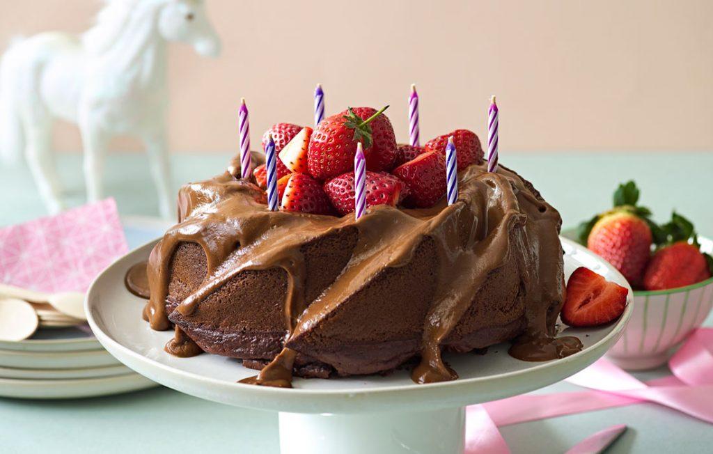 Choice as chocolate cake