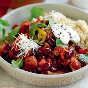 Couscous chilli con carne