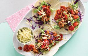 Easy kids' tacos