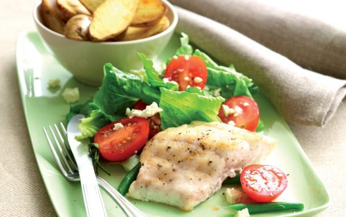 Hfg fish n chips healthy food guide for Devins fish and chips