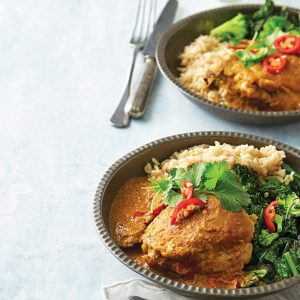 Weeknight meal plan: Beef soup, potato fritters, beef tacos, chicken curry