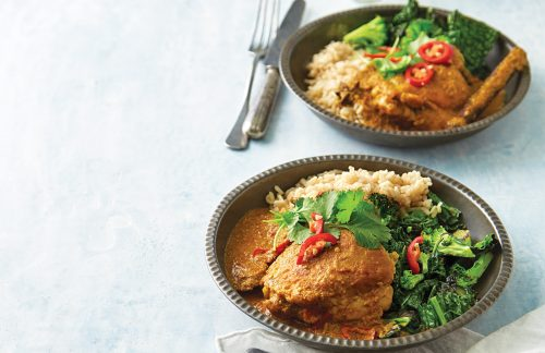 Fragrant chicken curry