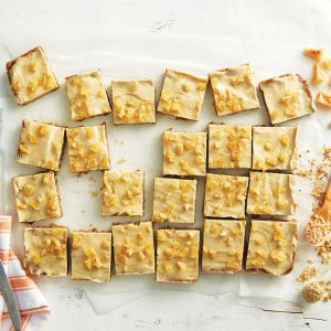 Ginger crunch made healthier