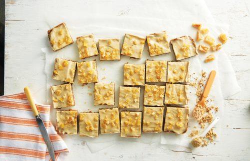 Ginger crunch made healthier