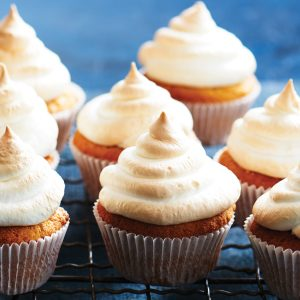Gluten-free lemon meringue cupcakes