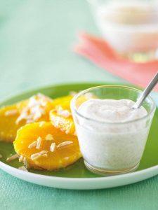 Honey almond oranges